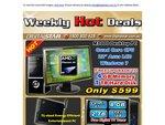 "Custom Built Desktop Amd Phenom Quad Core 4GB Ram 1TB HDD 22"" LCD Windows 7 Home Premium $599"