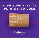 Velocity Gold Status for 3 Months with 10,000 Flybuys Points Transfer
