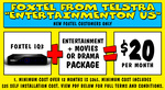 Foxtel iQ3 + Entertainment & Movie or Drama Package $20 Per Month (12 Month Contract) @ Telstra via JB Hi-Fi (New Customer Only)