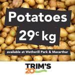 [NSW] Potatoes (Loose) $0.29 Per Kilo @ Trim's Fresh, Wetherill Park & Macarthur