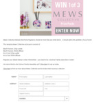 Win 1 of 3 Mews Collective Fragrance Packs Worth $199.80 from Seven Network