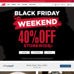 40% off Storewide (Full Priced Items Only) @ New Balance