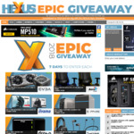 Win 1 of 8 Gaming Prizes from Hexus' Epic Giveaway