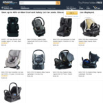 Up to 40% off Maxi Cosi and Safety 1st Car Seats @ Amazon AU