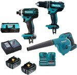 Makita 18V 3.0ah 3 Piece Combo Kit $399 Delivered @ Get Tools Direct