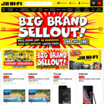 20% off Blu-Ray 4K, DVDs, Computers*, 15% off Microsoft Surface Pro 6 & Laptop 2, 15% off Selected Cameras @ JB Hi-Fi