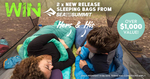 Win His & Hers Sea to Summit Sleeping Bags Worth Over $1,000 from Wild Earth