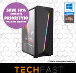 "Gaming PC: R5-2600 RX 570 8GB: $539.10 / +24/27"" Monitor: $638.10 / $683.10 / Mining Rack $1 + $19 Postage @ TechFast eBay"
