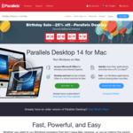 25% off Parallels Desktop for Mac AU $82.46 @ Parellels