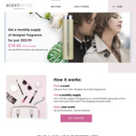 Designer Perfume Subscription for Just $11.50/First Month (50% off), Delivered - Normal Price $22.99 - ScentStyle Australia
