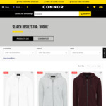 Asher Hoodie (40% Cotton) $10.49 (Multiple Colours/Sizes) @ Connor (C&C or + Shipping)
