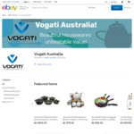 50% off on 2 or More Kitchenware, Tableware and Cookware Items (from $7.70) @ Vogati eBay