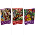 Assorted Cardinal 500 Piece Puzzles - $1 - Pickup /+ $7.90 Delivery @ BIG W