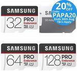 Samsung Pro Endurance 64GB MicroSD Card $29.60 Delivered @ Tech Mall eBay