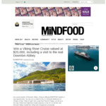 Win a Viking River Cruise Valued at $20,000 from MiNDFOOD
