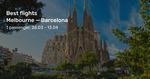 Barcelona, Spain Return from Melbourne $788, Sydney $802 on Air China (Mar-June) @ BeatThatFlight