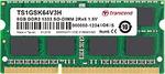 Transcend 2GB 1rx8 DDR3 1333 SO-DIMM RAM for $11.50 Delivered @ WISP