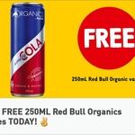 Free 250ml Red Bull Organics Varieties @ 7-Eleven via Fuel App