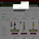 Free 2-Hour Metro Express Delivery on $100 Spend [Targeted] | $35 off $350 Spend on Most Red+White Wines [Anyone] @ Dan Murphy's