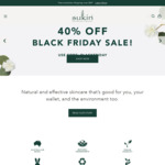 40% off All Products & Free Delivery for Orders over $50 @ Sukin Online