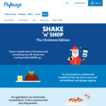 Bonus Offers Each Day with Flybuys Shake 'N' Shop (iOS / Android App)
