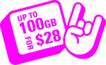 100GB Mobile Plan for $28/Month for 6 Months (20GB/Month Afterwards) @ Circles.Life