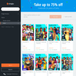 Up to 75% off The Sims (e.g. The Sims 4 Standard $12.49, Deluxe $14.99) @ Origin