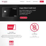 Kogan Black Credit Card - Earn $100 Kogan.com Credit with $1000+ Spend in First 60 Days