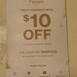 $10 off Fanola Online Order with Minimum $30 Spend