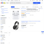 [eBay Plus] Apple AirPods Pro $334, Sennheiser Momentum 3 Wireless ANC Headphones $398 Delivered @ Sydney Mobiles eBay