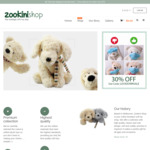 Lockdown Sale 30% off All Teddy Bears at Zookini