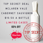Cellar Aged 2013 McLaren Vale Cabernet Sauvignon $126 a Case (12 Bottles, $10.50 Each) @ WineNutt