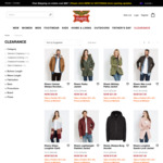 Further 20% off Clearance Styles (Free Delivery over $80) @ Rivers