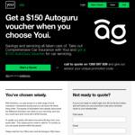 $150 Autoguru Voucher When Buying Youi Comprehensive Car Insurance