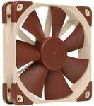 Noctua NF-F12 PWM, Premium Quiet Fan, 4-Pin (120mm, Brown) $26.39 + $9 Shipping @ Newegg