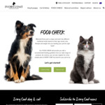 Free Pet Food Sample by Completing Food Check Form @ Ivory Coat