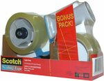 Scotch Light Duty Sealing Tape BPS-1 + 2 Rolls (48mm X 50m) $15.36 + Delivery ($0 with Prime/ $39 Spend) @ Amazon AU