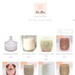 10% off Candle Jars and Hand Poured Soy Candles (Free Delivery over $100 Spend) @ Sini Glow