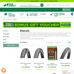 20% off Maxxis Tyres @ MTB Direct