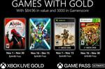 [XB1, XB360] Xbox Games with Gold November 2020 -Aragami: Shadow Edition, Swimsanity!, Full Spectrum Warrior, LEGO Indiana Jones