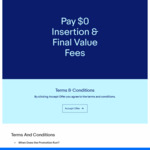 Pay $0 Insertion and Final Value Fees for One Item You List Using Phone App @ eBay Australia