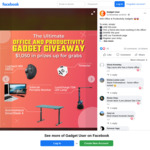 Win Office & Productivity Gadgets from Gadget User