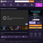 [PC] Steam/Epic - Bulletstorm Full Clip Ed. $4.90/Barotrauma $17.41/We Happy Few $11.02/Borderlands 3 (Epic) $24.25 - 2Game