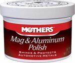 Mothers 655101 Mag & Aluminum Polish - 283g/10oz. $17.50 + Del ($0 w/ Prime) @ Amazon AU