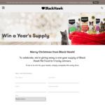 Win a Year's Supply of Black Hawk Pet Food from Black Hawk