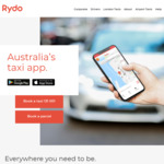 Rydo - $20 off First Ride (New Customers Only)