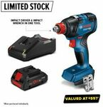 Bosch 18v Brushless Impact Wrench Kit $249 + Delivery (Free C&C) @ Total Tools