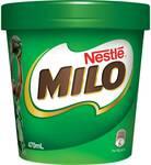 ½ Price Nestle Milo Ice Cream Tub 470ml $3.50 @ Woolworths