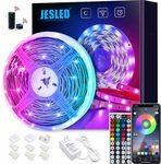 JESLED WiFi LED Strips Lights for Bedroom 5m, 5050 RGB LED $24.99 + Shipping ($0 with Prime) @ JESLED via Amazon AU