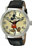 Disney 43mm Vintage Mickey Mouse Watch $28.11 + $7.85 Delivery ($0 with Prime & $49 Spend) @ Amazon US via AU